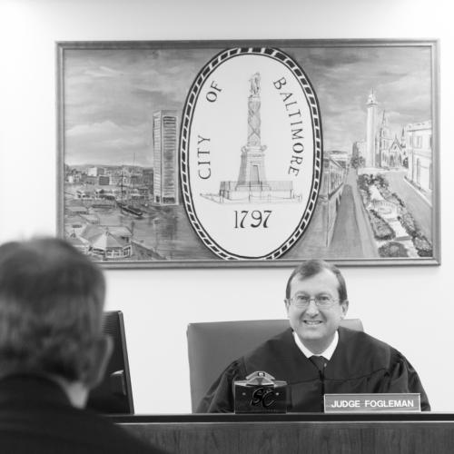 Judge Stephan Fogleman, Baltimore City Orphans' Court