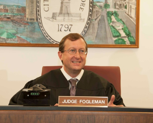 Judge Stephan Fogleman, Baltimore City Orphans' Court